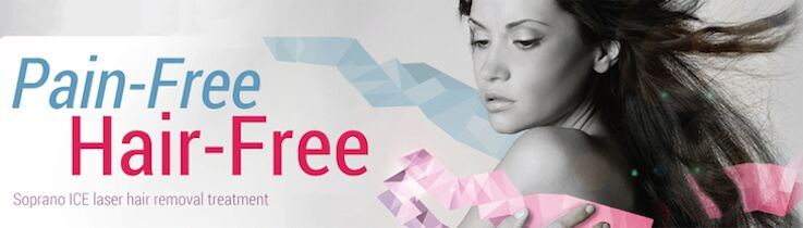 Pain free - hair free - laser hair removal