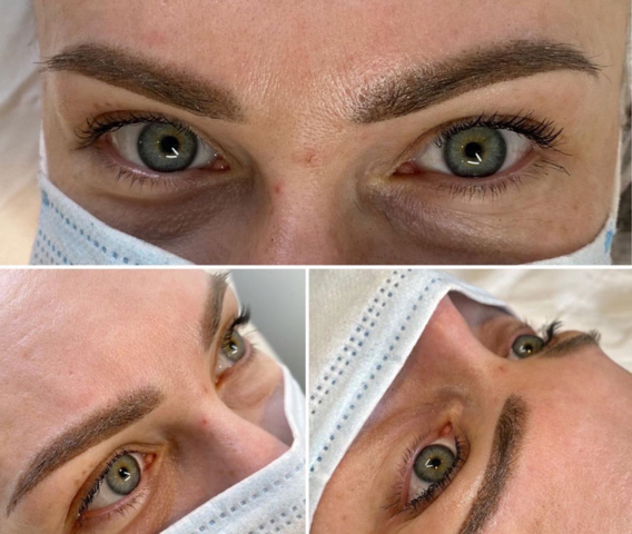 August 2020 - Ombré brows client