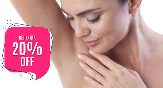 20% discount on laser hair removal