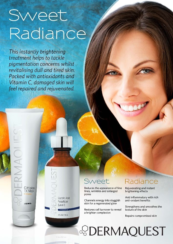 DermaQuest Sweet Radiance facial